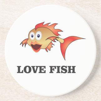 poissons d'amour dessous de verres