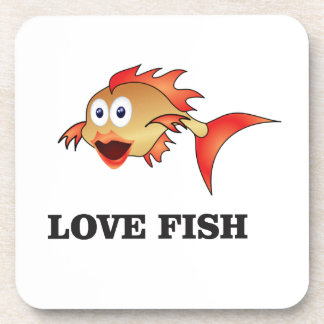poissons d'amour sous-bock