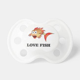 poissons d'amour tétine pour bébé