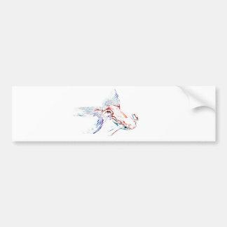 Poissons d'arc-en-ciel/poisson rouge/Koi Autocollant De Voiture