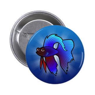 Poissons de Betta de bande dessinée/poissons de Badges