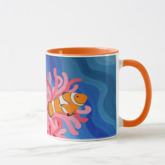 Poissons de clown mugs