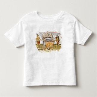 Poissons de cuisine t-shirt pour les tous petits