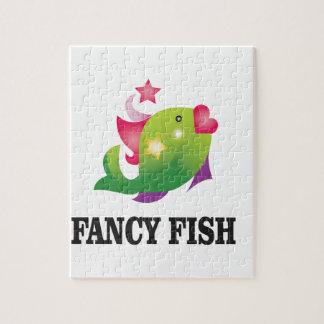 poissons de fantaisie femelles puzzles