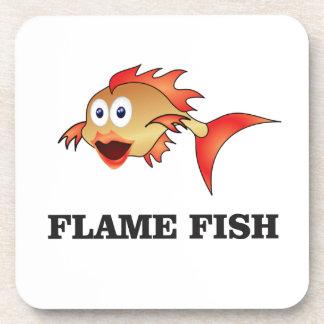 poissons de flamme sous-bocks