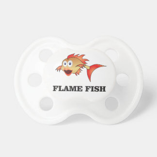 poissons de flamme sucettes pour bébé