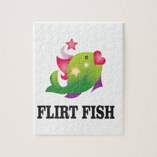 poissons de flirt ouais puzzle