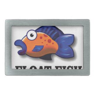 poissons de flotteur boucle de ceinture rectangulaire