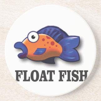 poissons de flotteur dessous de verre
