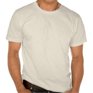 Poissons de porc-épic vintages de mer - blanc de t-shirts