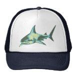 poissons de requin, animaux sauvages casquettes de camionneur