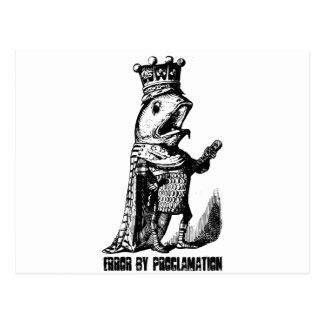 Poissons de roi :  Erreur par proclamation Carte Postale