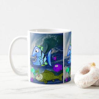 poissons de tasses