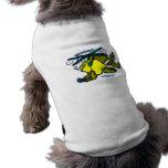 Poissons d'hélicoptère tee-shirt pour chien