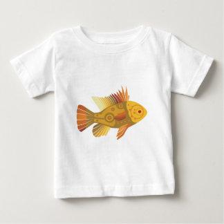 Poissons d'or t-shirt pour bébé