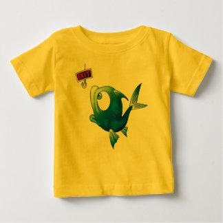 Poissons drôles de pêche t-shirt pour bébé
