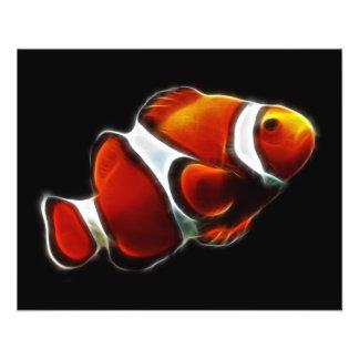 Poissons oranges tropicaux de clown de Clownfish Prospectus
