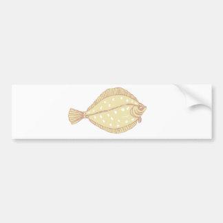 poissons plats autocollants pour voiture
