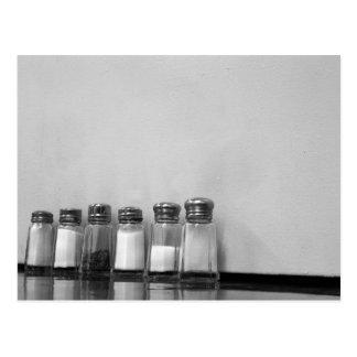 poivre de sel de sel carte postale