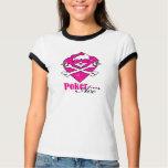 Poker Ace Skull Lady T-shirt