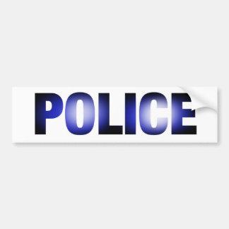 Police 3 autocollant de voiture