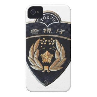 Police de Tokyo Coque iPhone 4 Case-Mate