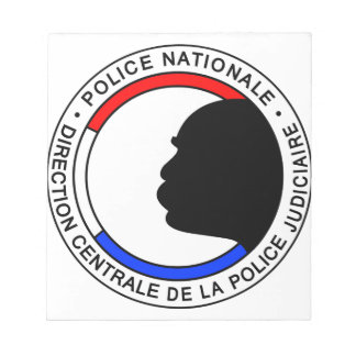 Police Française Blocs Notes