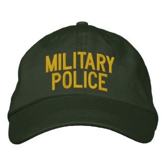POLICE MILITAIRE CASQUETTE BRODÉE