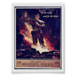 Police militaire posters