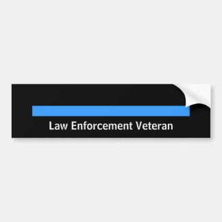 Police retirée de shérif de police Blue Line Autocollant Pour Voiture