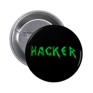 Police rugueuse de pirate informatique de luxe pin's