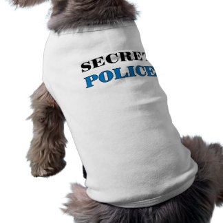 Police secrète 1 - T-shirt de chien