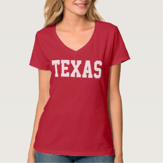 Police White.png du Texas Jersey T-shirt