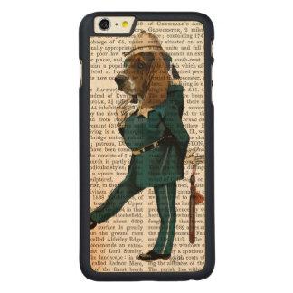 Policier de Basset Hound Coque Carved® En Érable Pour iPhone 6 Plus Case