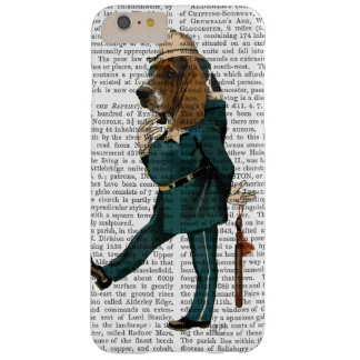 Policier de Basset Hound Coque iPhone 6 Plus Barely There