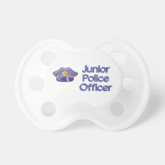 Policier junior tétine pour bébé
