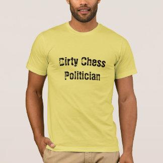 Politicien sale d'échecs t-shirt