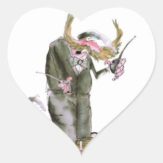 politiciens de Yorkshire d'amour Sticker Cœur