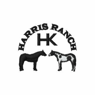 Polo brodé par ranch de Harris (logo noir)