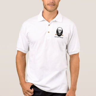 Polo Chemise de golf - conception sérieuse morte de