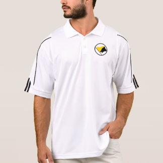Polo Chemises de drapeau d'AnCap