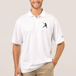 Polo convenable de tennis de Nike Dri avec le logo Polo