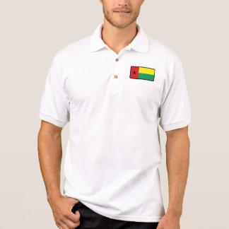 Polo de golf de drapeau de la Guinée-Bissau Polo