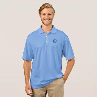 Polo de qualité dans bleu-clair polo