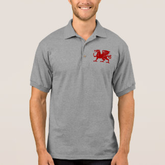 Polo Dragon rouge de Gallois