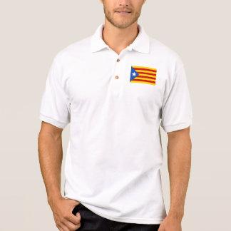 "Polo Drapeau catalan de l'indépendance de ""L'Estelada"