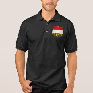 Polo Drapeau de l'Indonésie