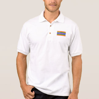 Polo Drapeau des USA de gay pride - 13 colonies de gay