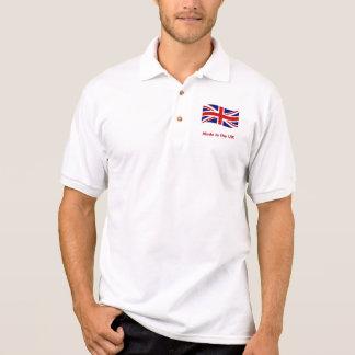 Polo Drapeau d'Union Jack fait dans le polo BRITANNIQUE