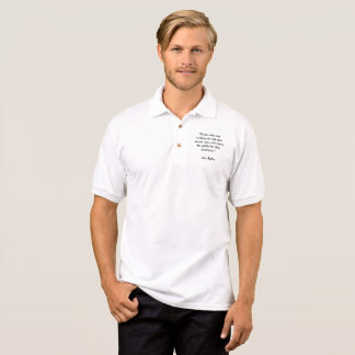 "Polo ""If you are not willing to risk the usual"